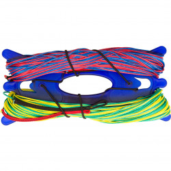 HQ4 Y-Lineset Dyneema 300-600 kp / Back Line Set 270 kp, 22 m