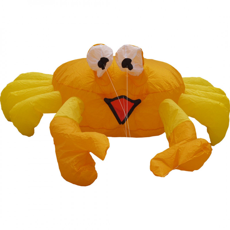 Bouncing Buddy Billy the Crab Orange