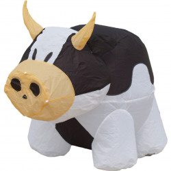 Bouncing Buddy Cow, Black & White