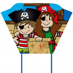 "Pirate Pocket Sled ""Jimmy & Jenny"""