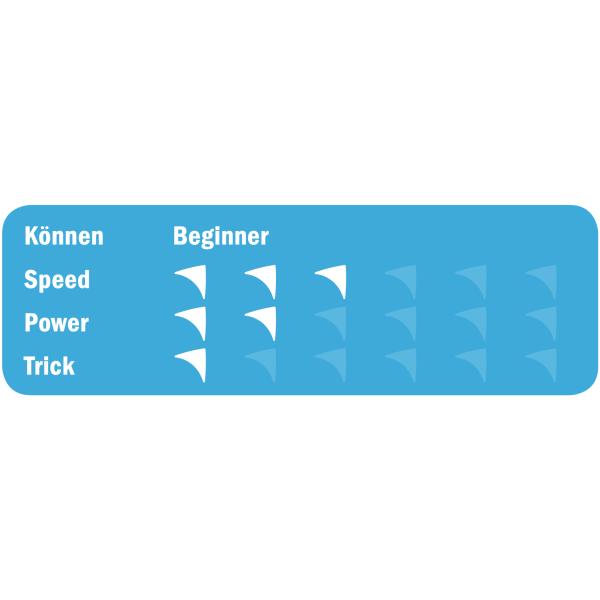 """Stunt Kite """"Rookie"""" Rainbow"""
