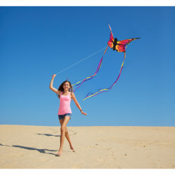 Butterfly Kite Ruby L