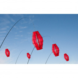 """Hoffmanns Lampion """"S"""" Red"""